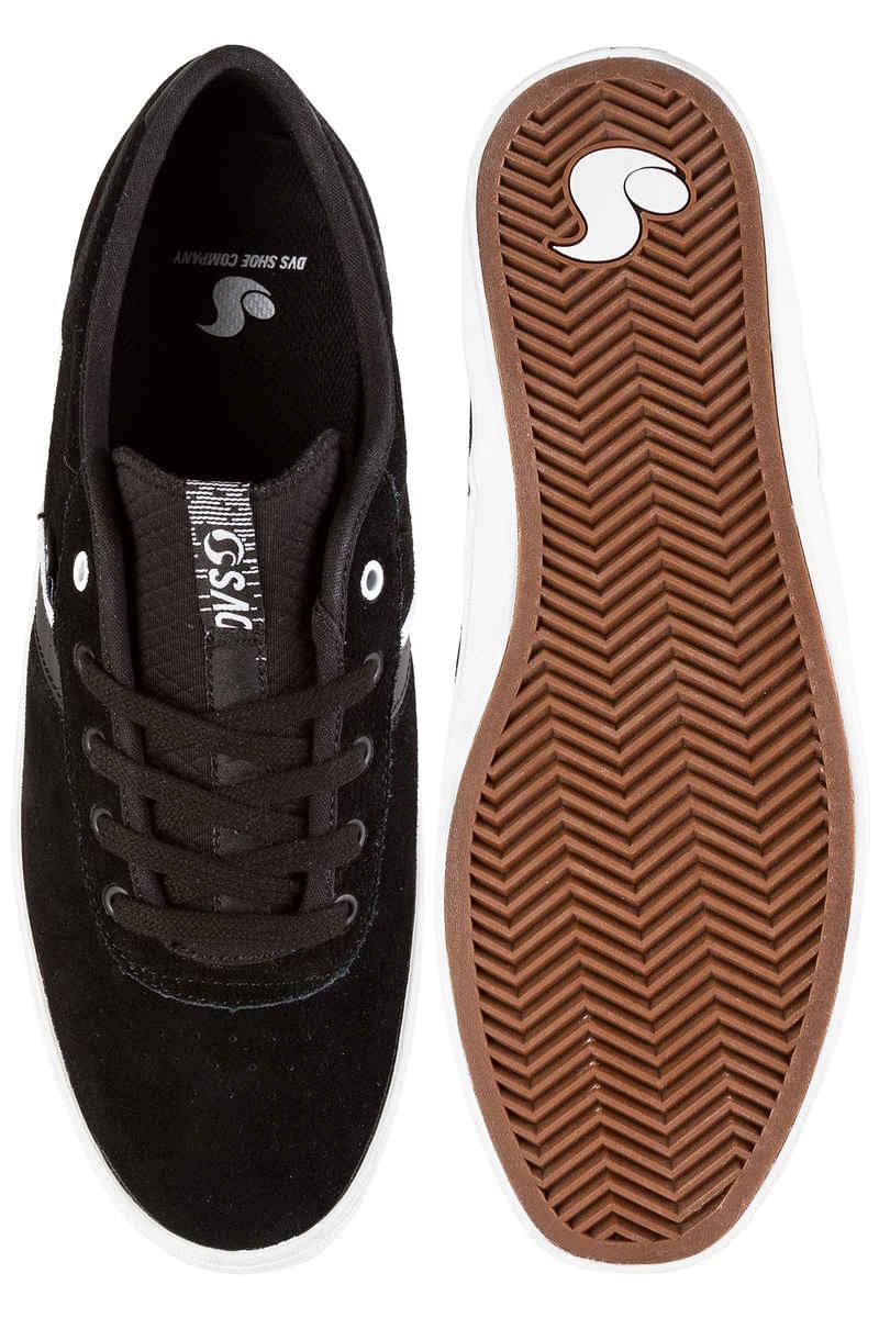 DVS Epitaph Suede Shoes (black white)