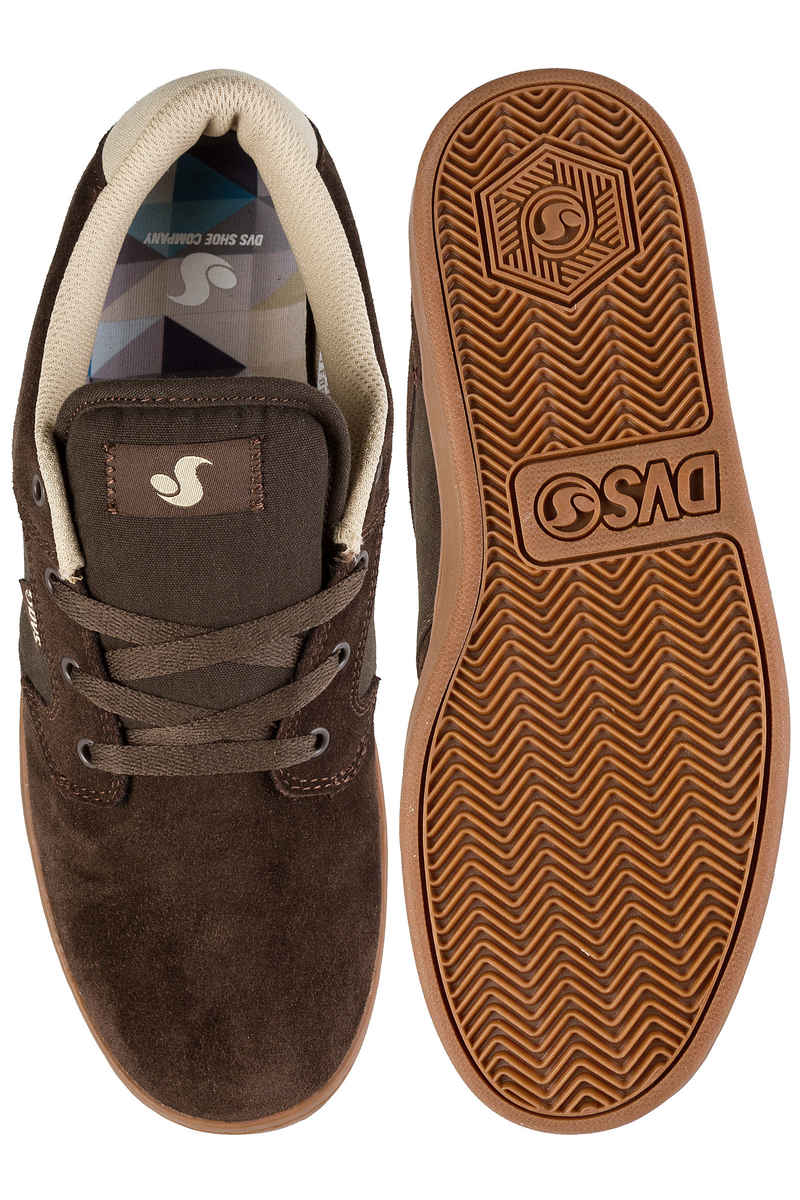 DVS Quentin Suede Shoes (chocolate)