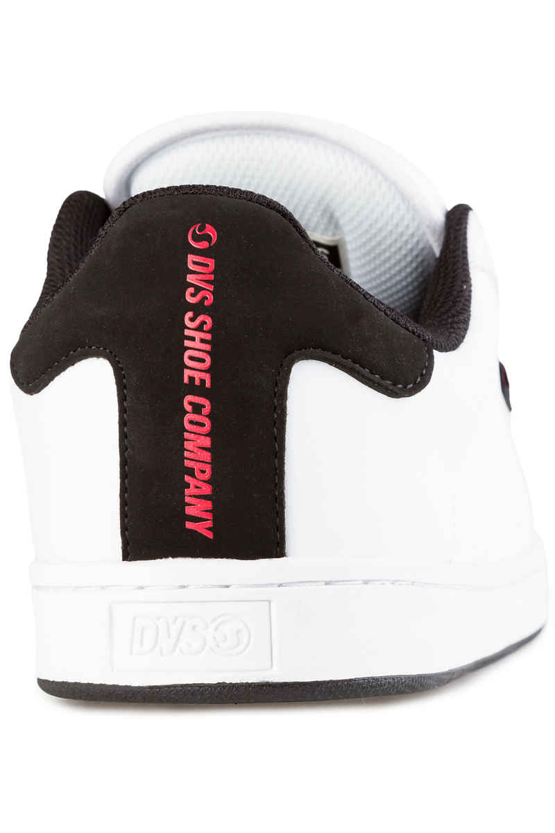 DVS Revival 2 Leather Schuh (white black red)