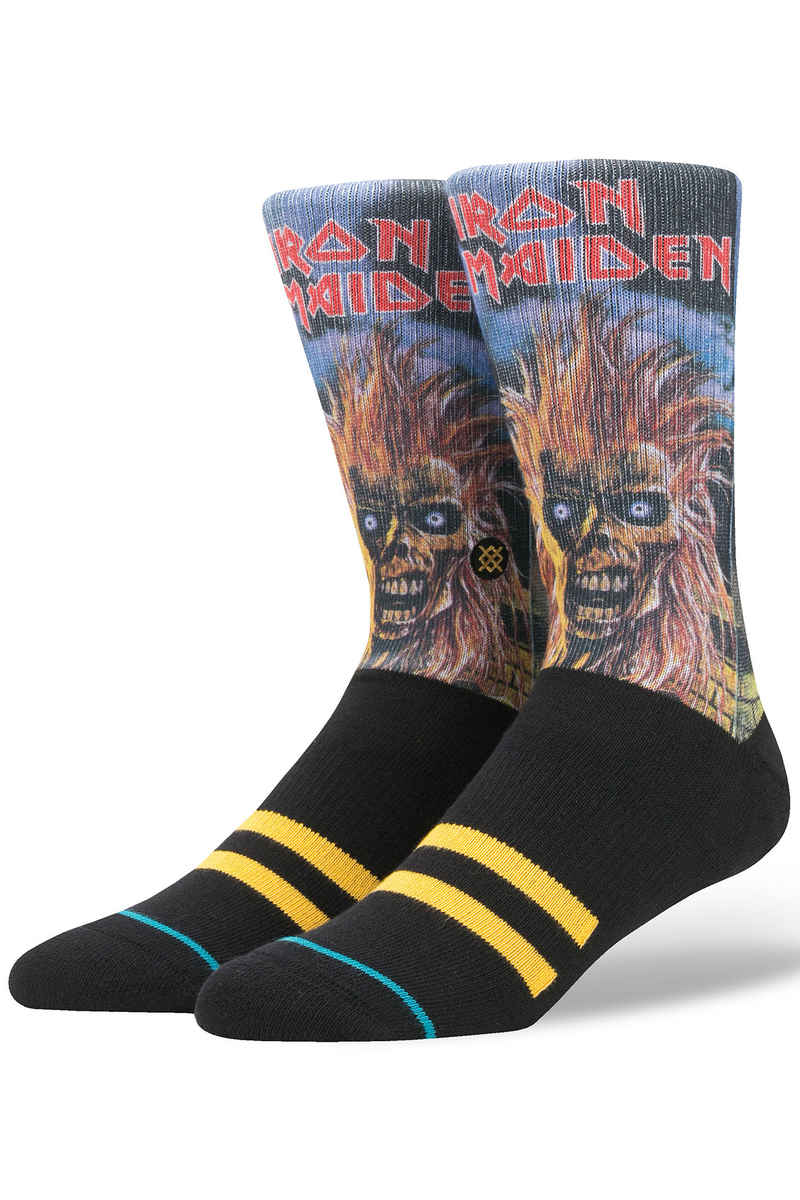 Stance Iron Maiden Calcetines US 6-12 (black)