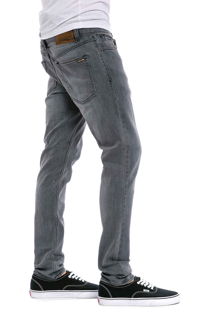 Volcom 2X4 Tapered Jeans (iron grey)