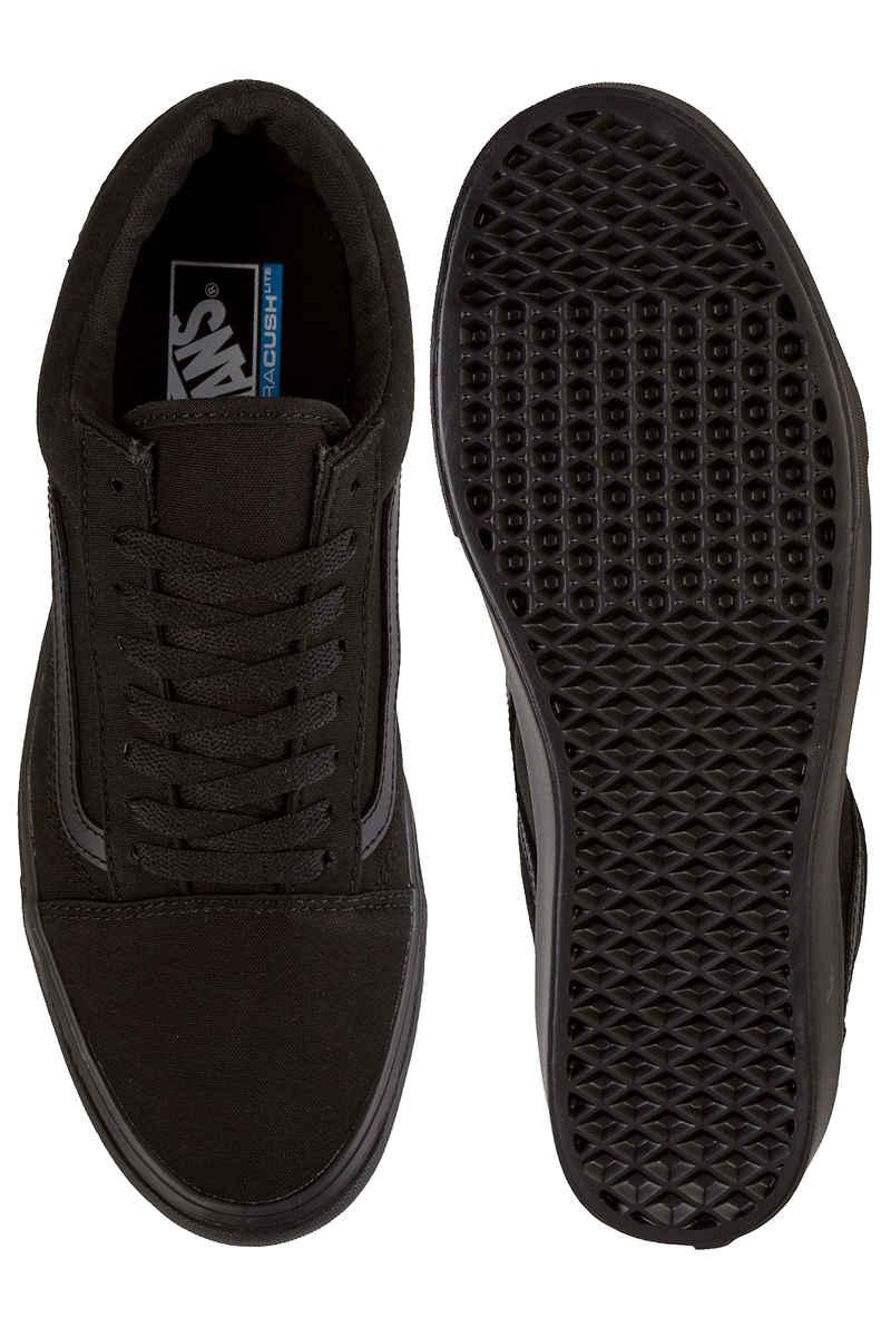 Vans Old Skool Lite Canvas Schuh (black black)