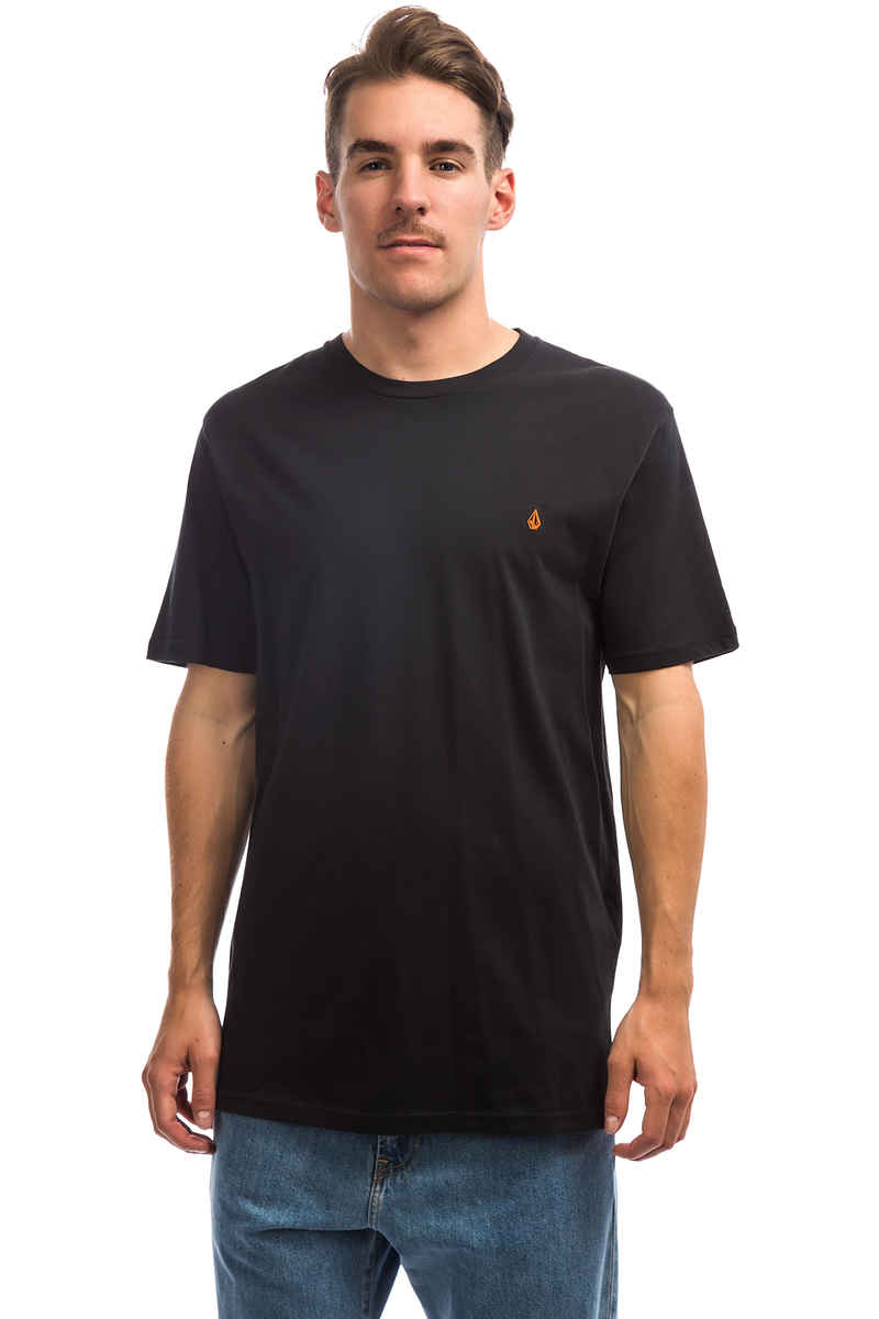 Volcom Stone Blank T-Shirt (all black)