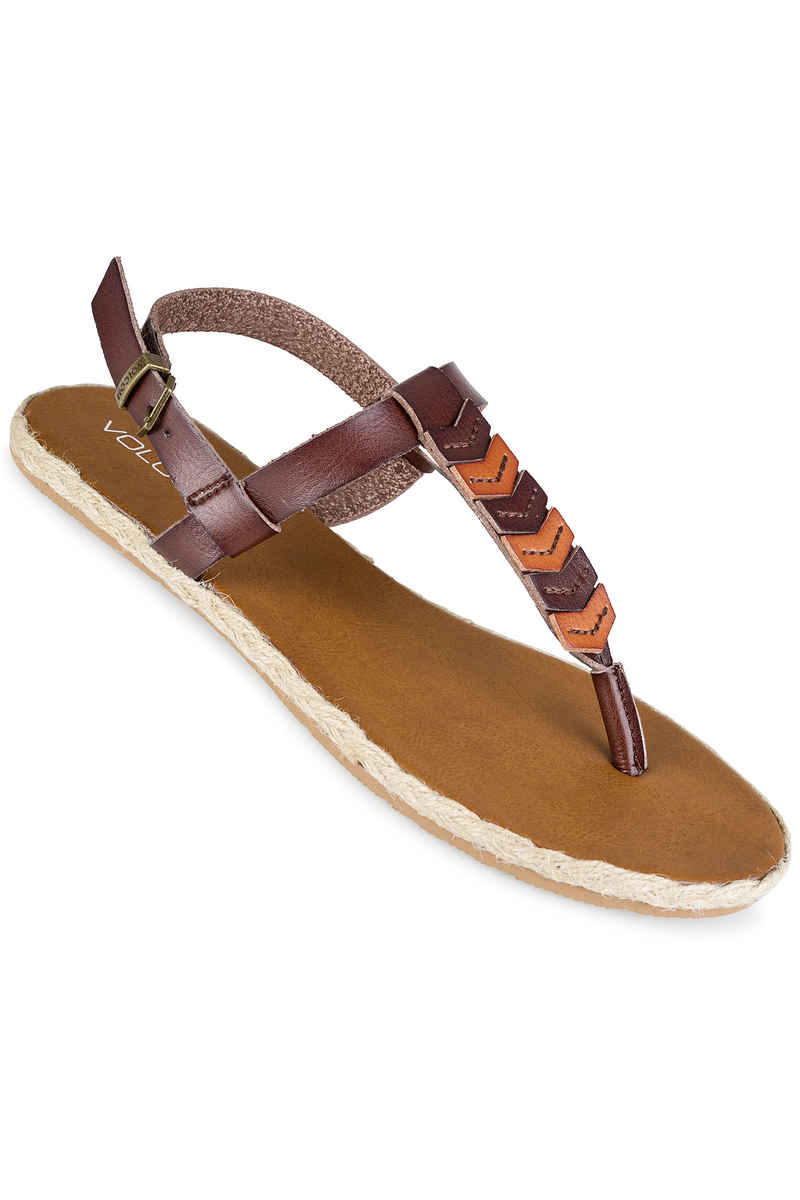 Volcom Trails Chanclas women (brown)