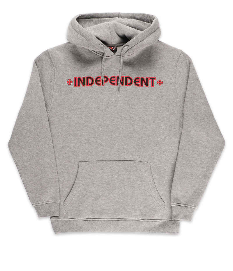 Independent Bar Cross Hoodie (dark heather)