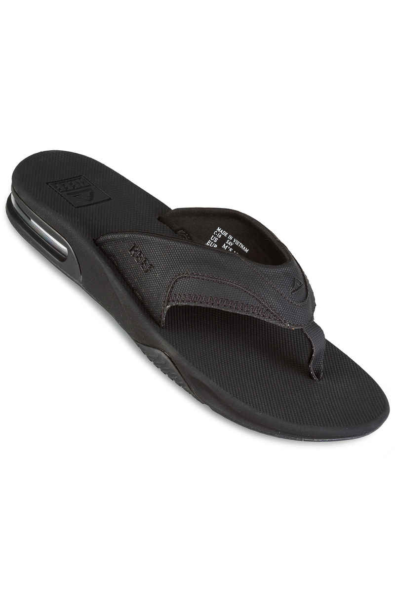 Reef Fanning Chanclas (all black)