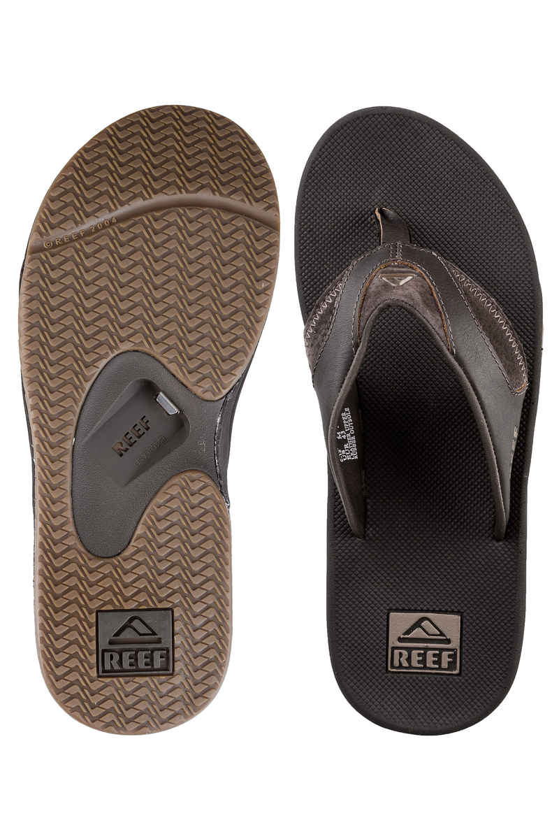 Reef Leather Fanning Sandale (brown)