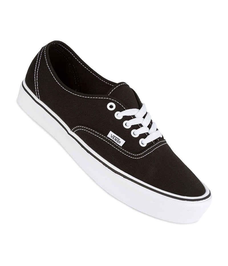 Vans Authentic Lite Canvas Schuh (black white)