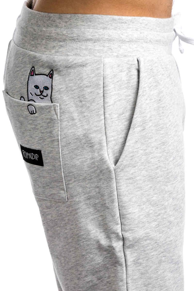 RIPNDIP Peeking Nermal Jogger Pantalones (white heather)