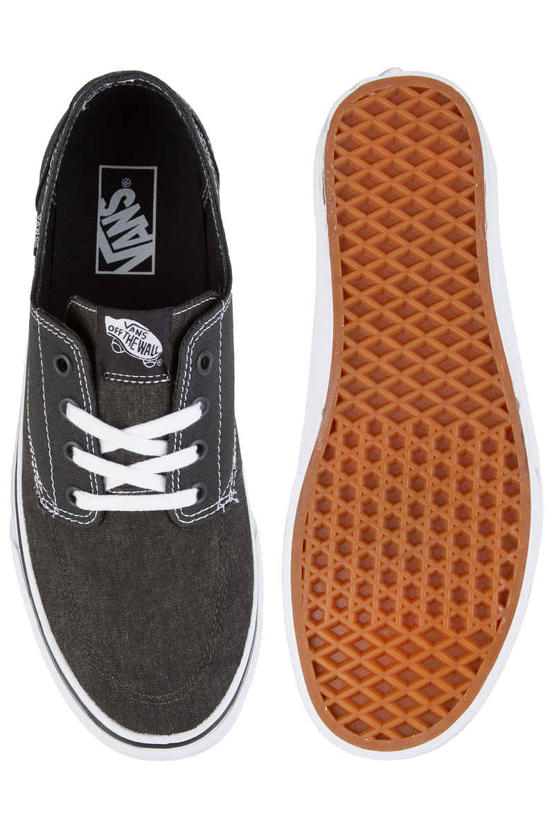 Vans Brigata Canvas Shoes (pirate black white)