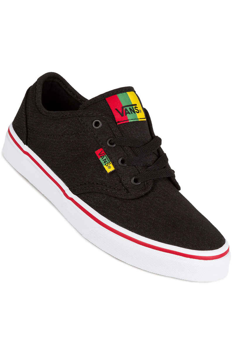 Vans Atwood Shoes kids (black red) buy at skatedeluxe a2c642187cd9