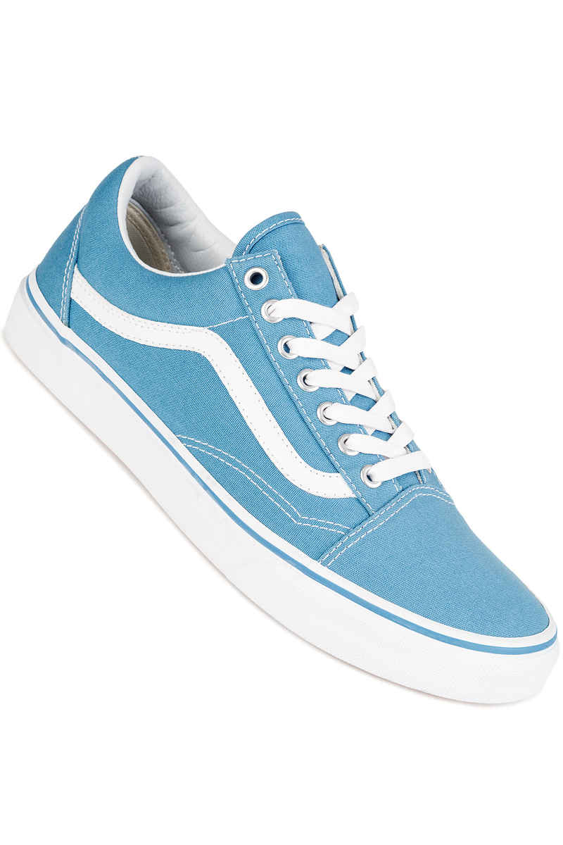 vans old skool shoes cendre blue true white buy at. Black Bedroom Furniture Sets. Home Design Ideas