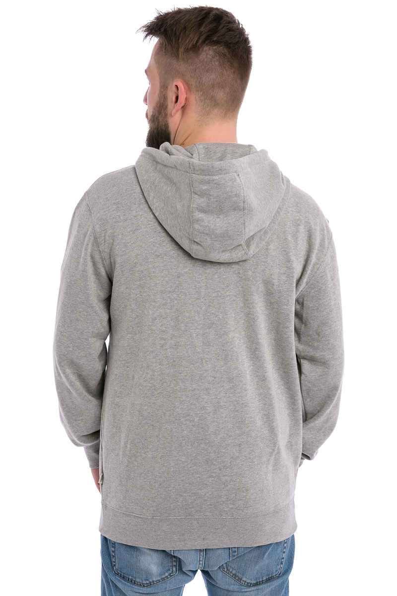 Vans Core Basics IV Zip-Sweatshirt avec capuchon (cement heather)
