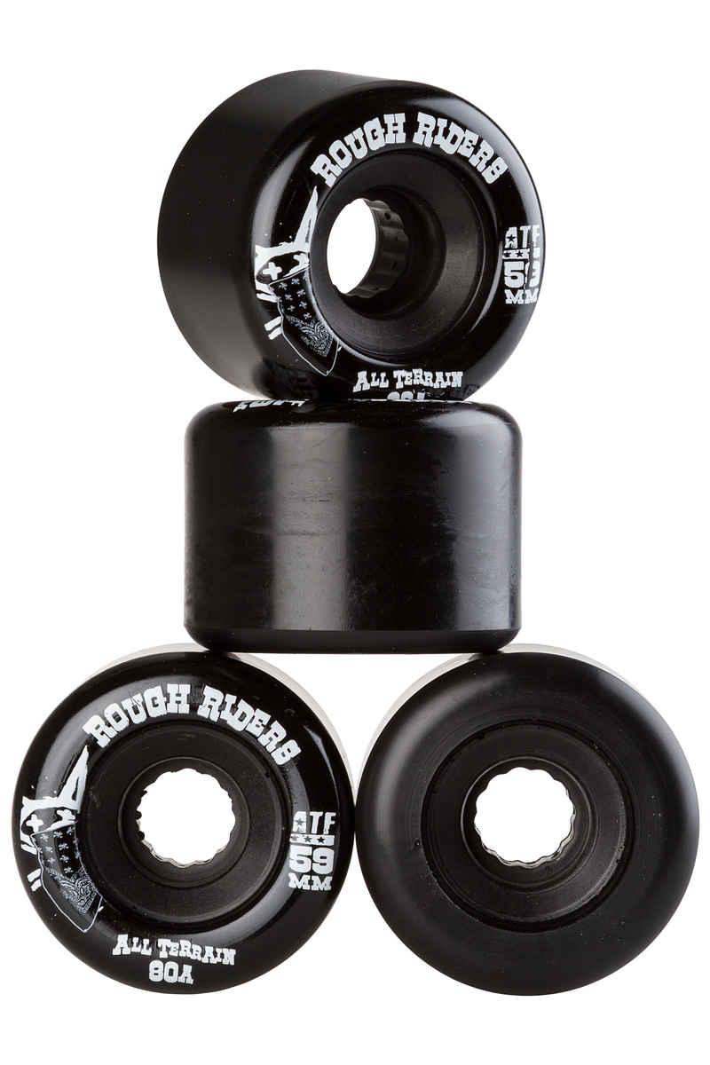 Bones ATFormula Rough Rider Rollen (black) 59mm 4er Pack 80A