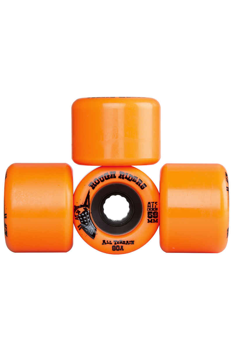 Bones ATFormula Rough Rider Wheels (orange) 59mm 4 Pack 80A