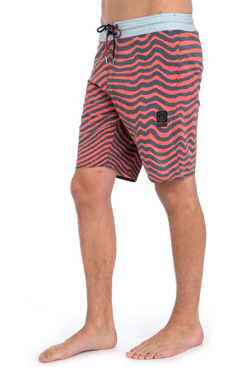 Volcom Mag Vibes Stoney 19 Boardshorts (bright orange)