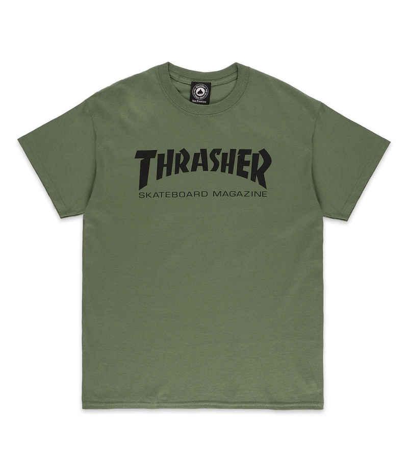 Thrasher Skate Mag T-Shirt (army)