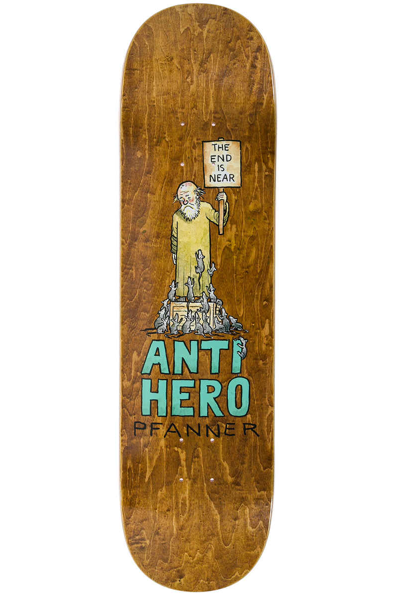 "Anti Hero Pfanner Wonderful Life 8.25"" Deck (multi)"