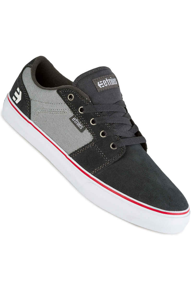 Etnies Barge LS Schoen (dark grey grey red)