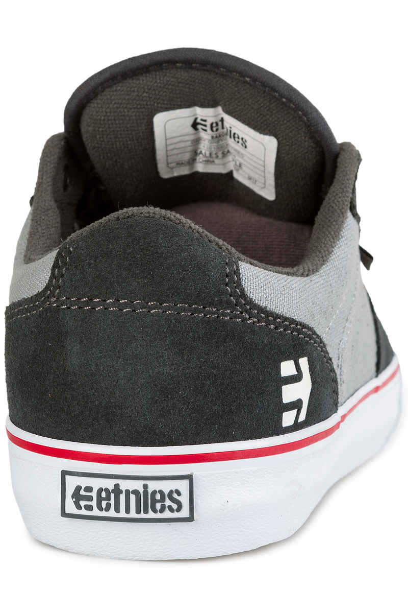 Etnies Barge LS Shoes (dark grey grey red)