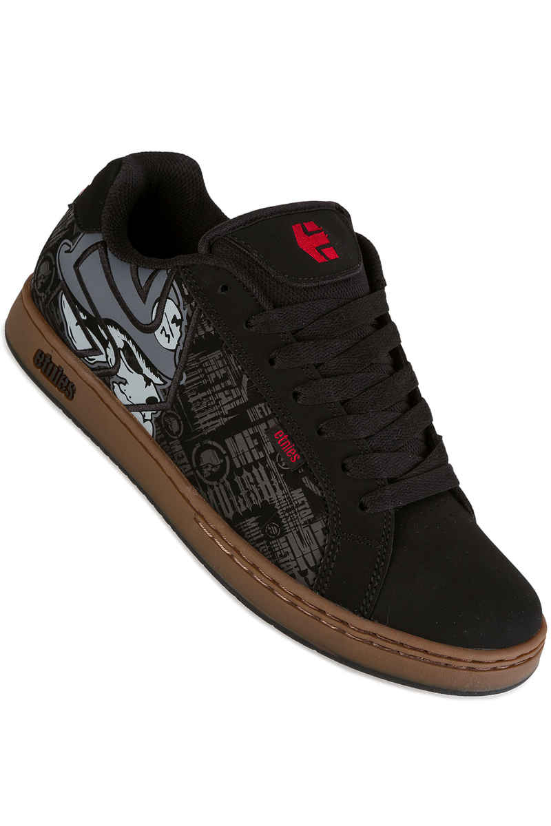 Etnies Metal Mulisha Fader Schoen (black gum grey)