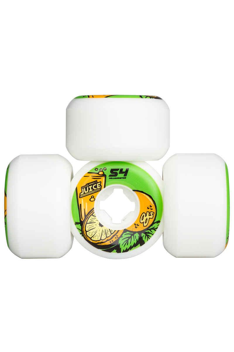 OJ Wheels Juice Insanethane Hardline Rollen (white) 54mm 99A 4er Pack
