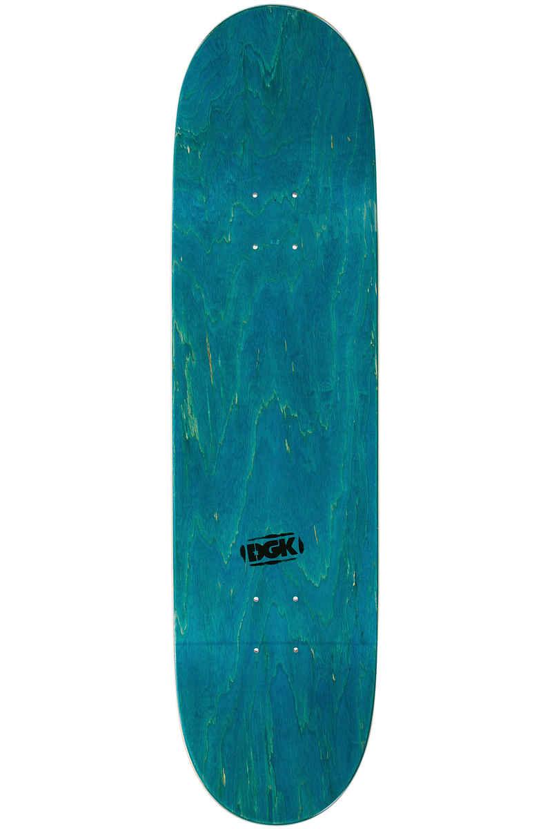 """DGK Skateboards Team 8.5"""" Deck (white)"""