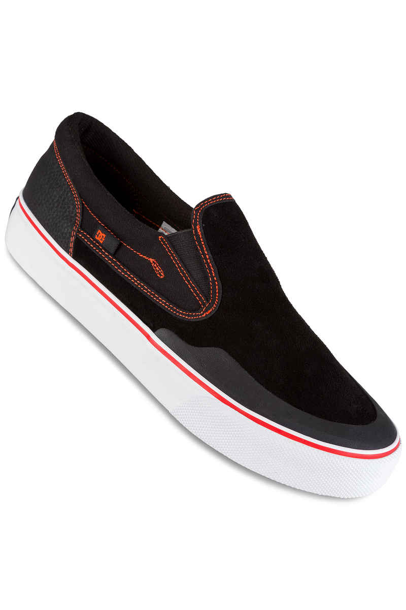 DC x Baker Trase Slip On S RT Schuh (black red white)