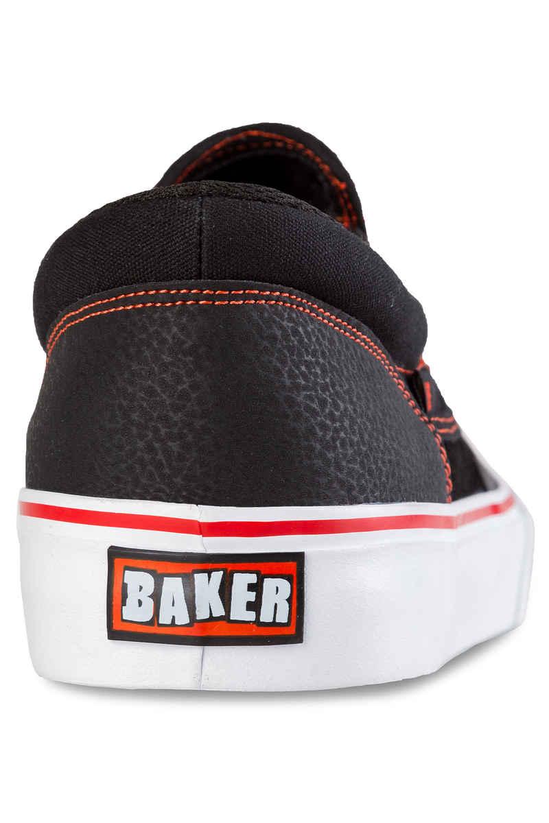 DC x Baker Trase Slip On S RT Schuh (black red white)