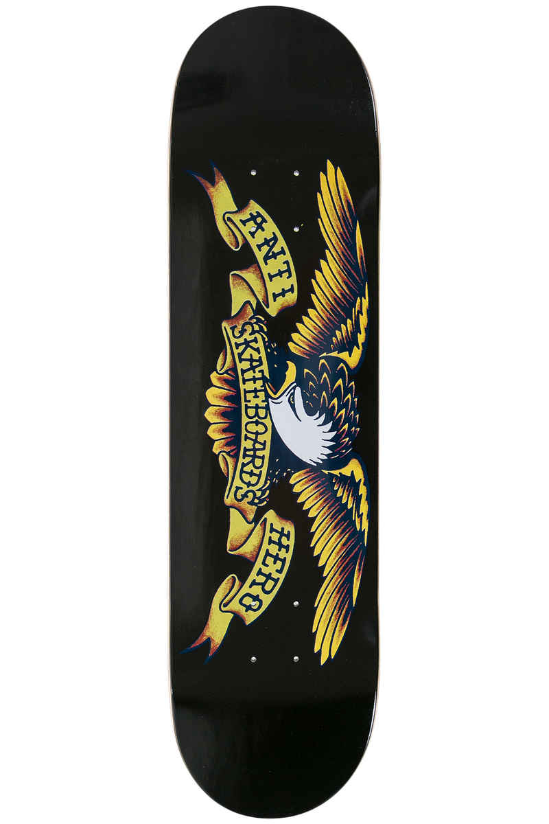 "Anti Hero Team Classic Eagle 8.125"" Deck (black)"