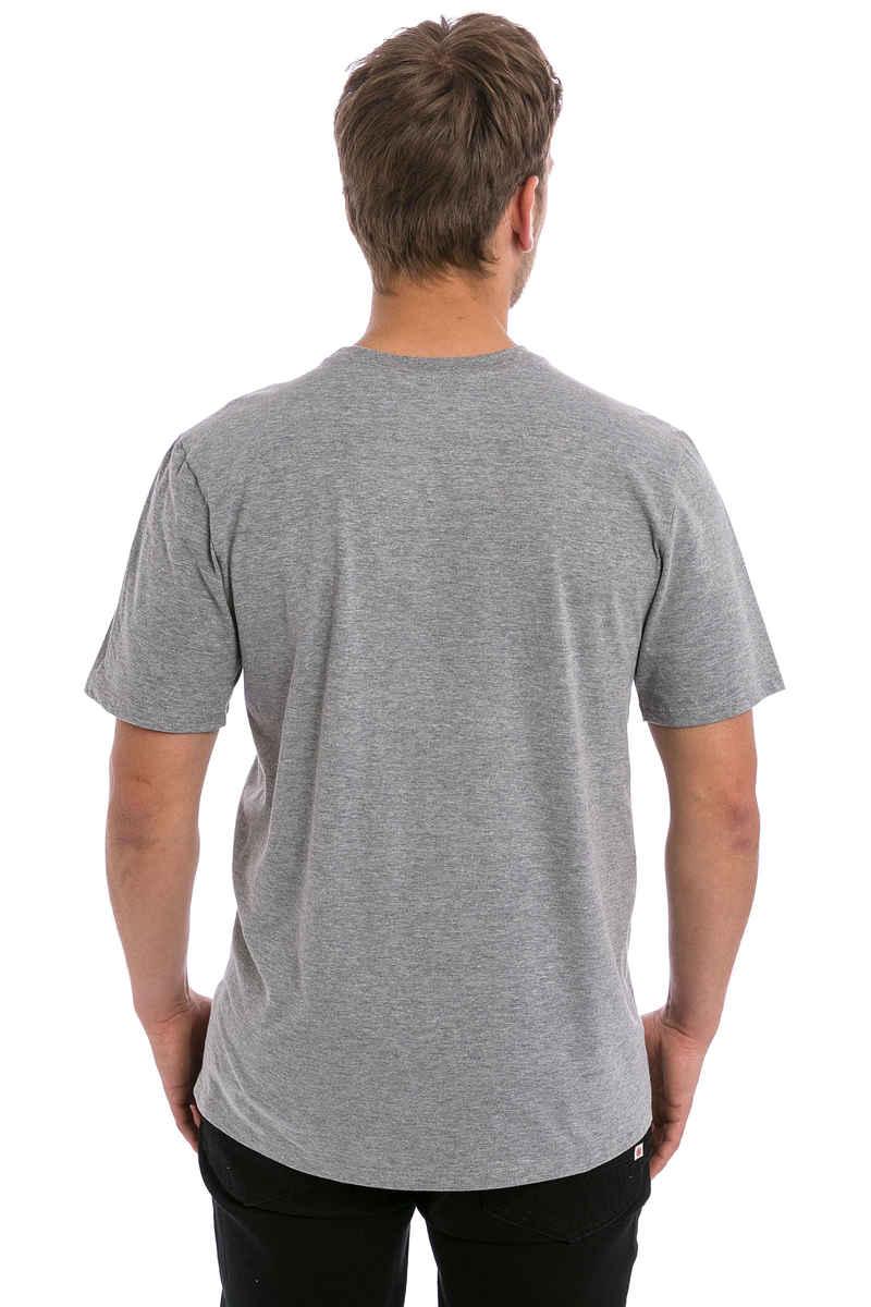 Hurley Icon Slash Push Through T-Shirt (dark grey heather)