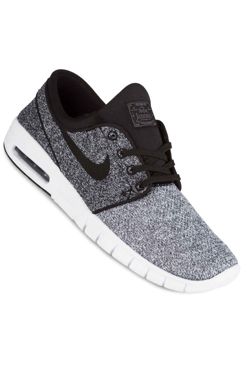 Nike SB Stefan Janoski Max Zapatilla (white black dark grey)