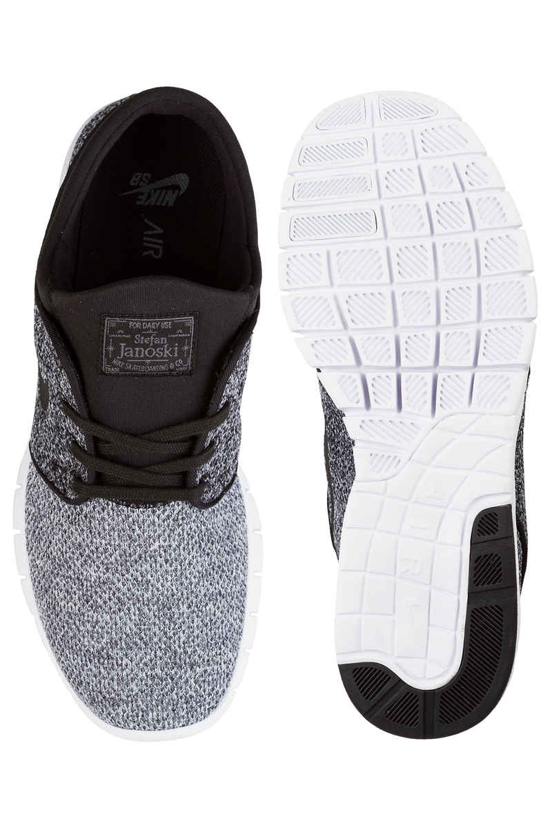 Nike SB Stefan Janoski Max Shoes (white black dark grey)
