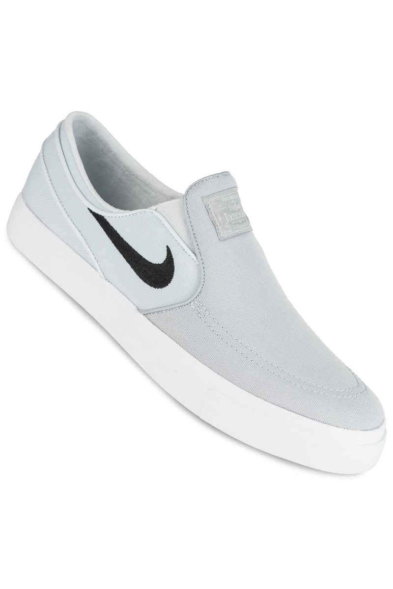 Nike SB Zoom Stefan Janoski Slip Canvas Shoes (wolf grey black)