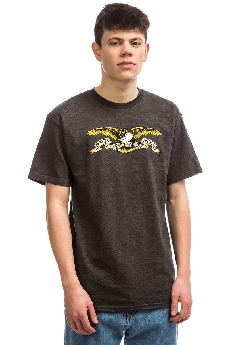 Anti Hero Eagle T-Shirt (charcoal heather)