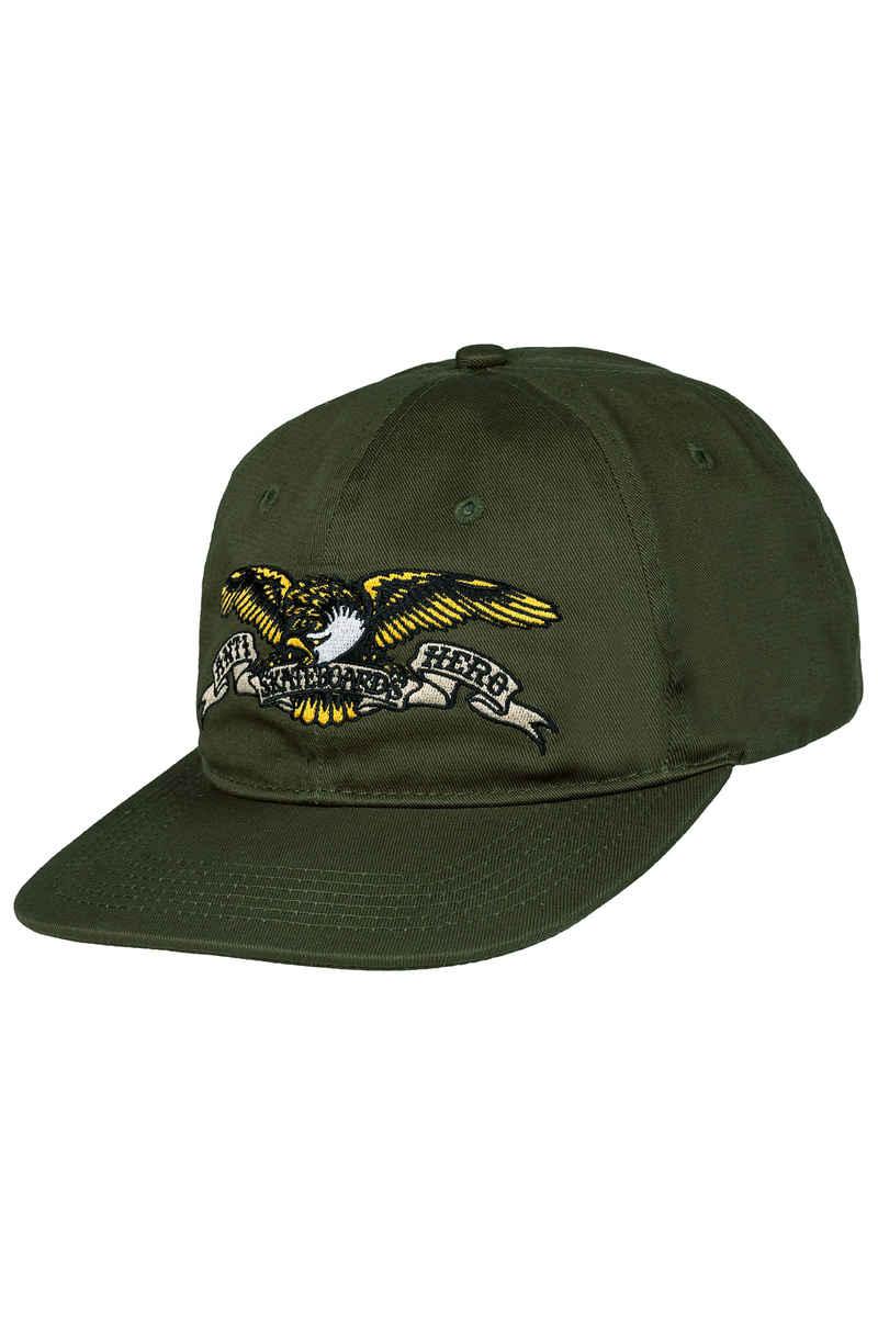 Anti Hero Eagle Emb 6 Panel Gorra (army)