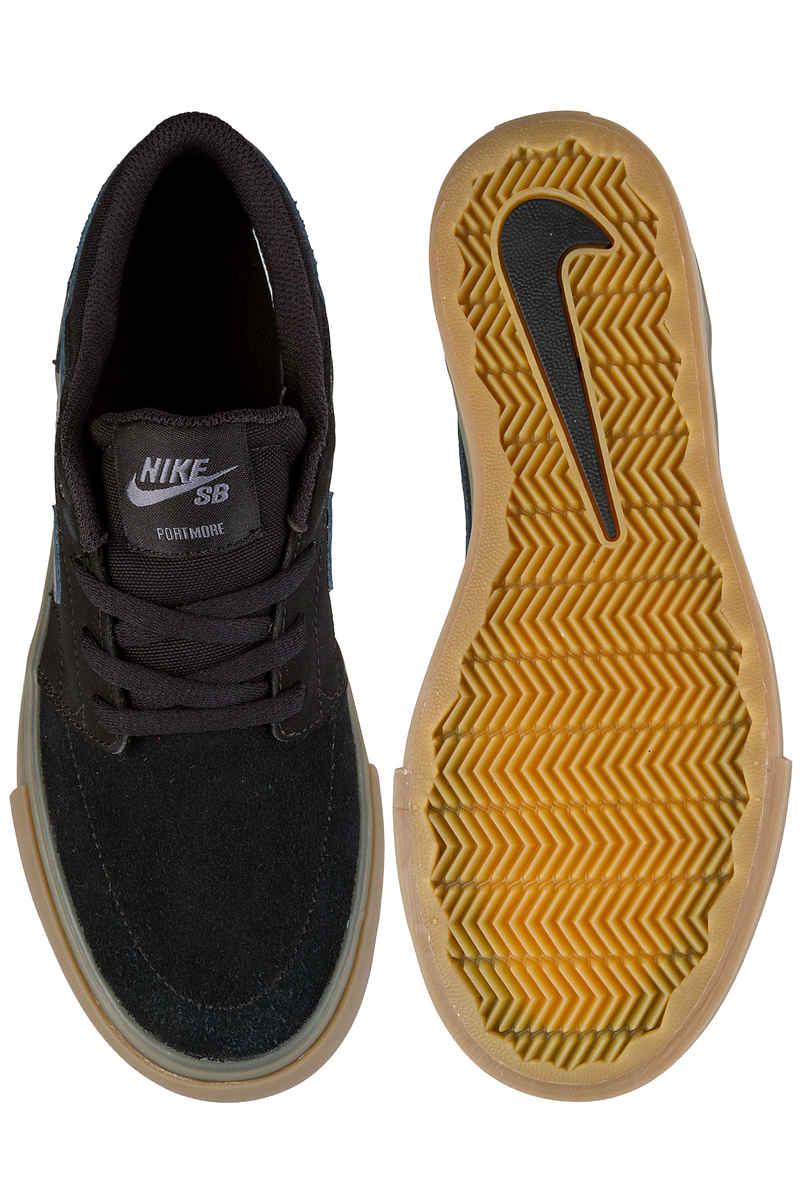 Nike SB Portmore II Schuh kids (black dark grey)