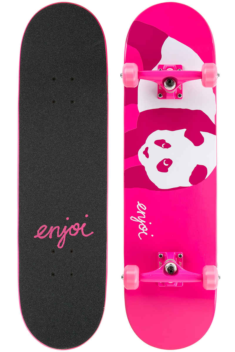 "Enjoi Hi, My Name is Pinky 8"" Complete-Board (neon pink)"