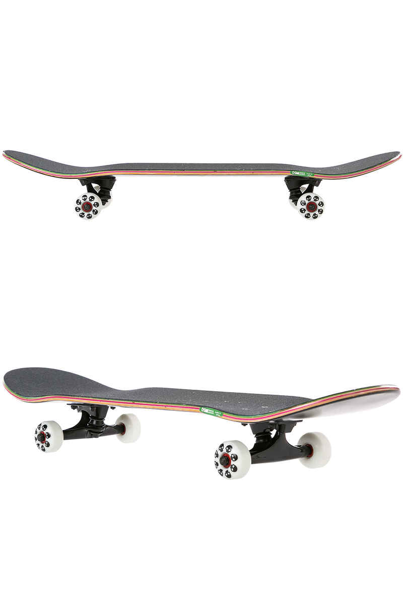 "Zero Single Skull 8"" Complete-Skateboard (black white)"