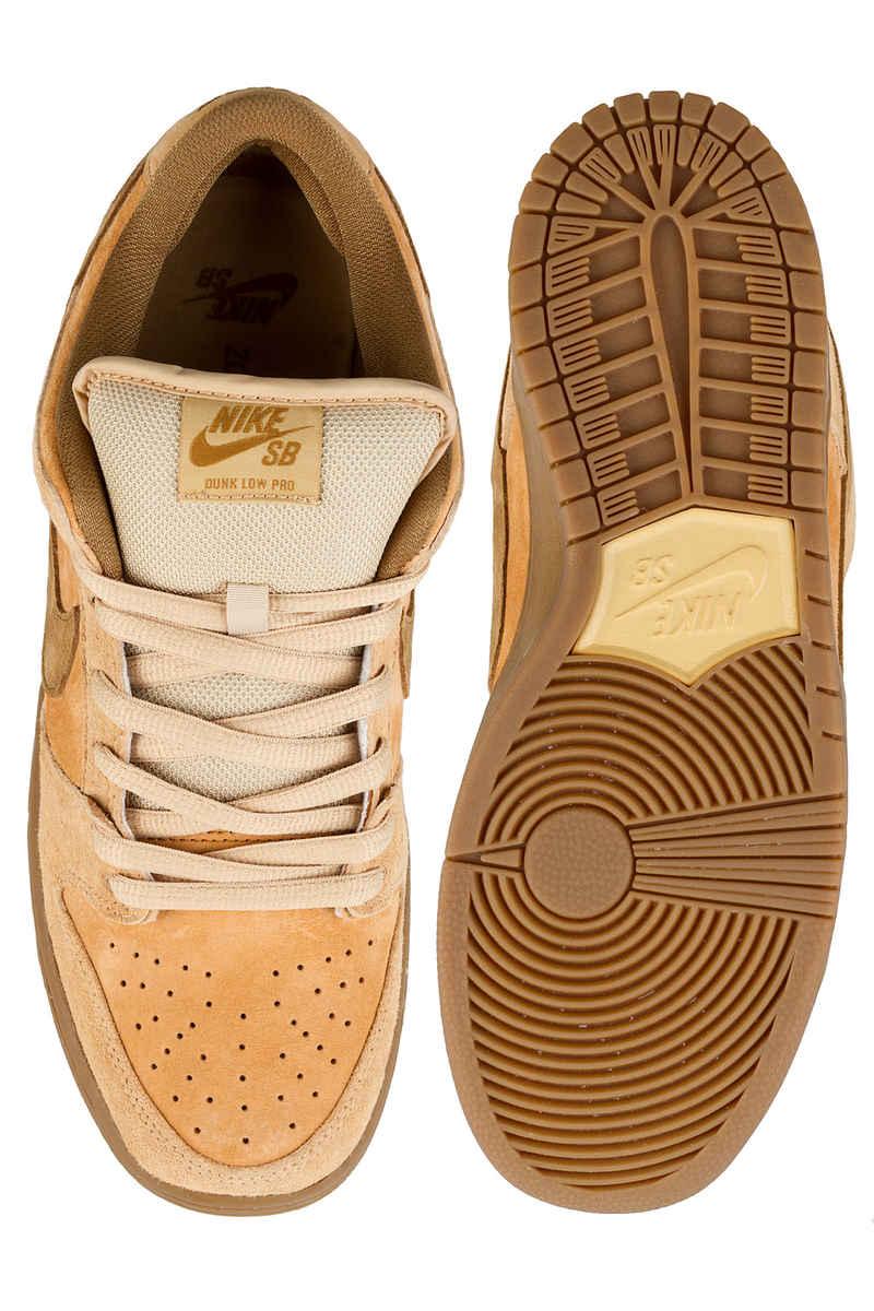 Nike SB Dunk Low Pro Shoes (dune twig wheat)