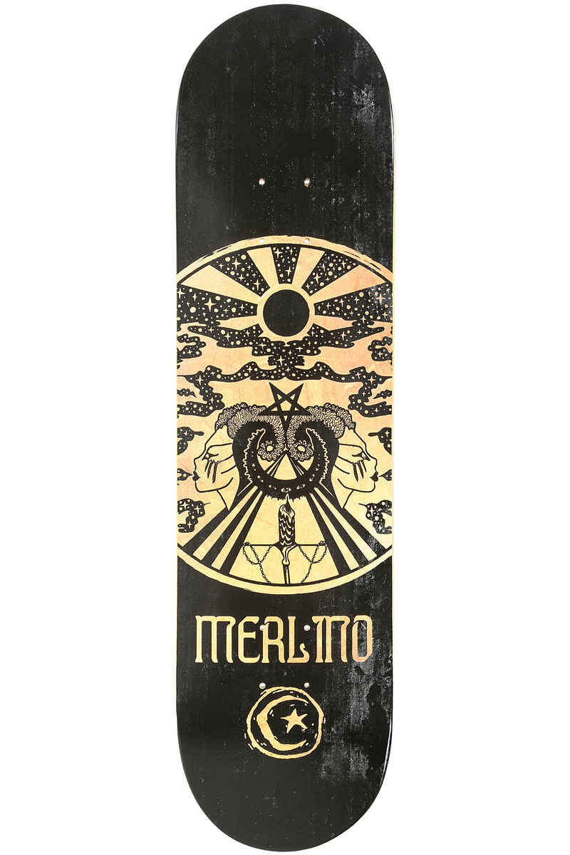 "Foundation Merlino Made By The Moon 8"" Deck (black)"