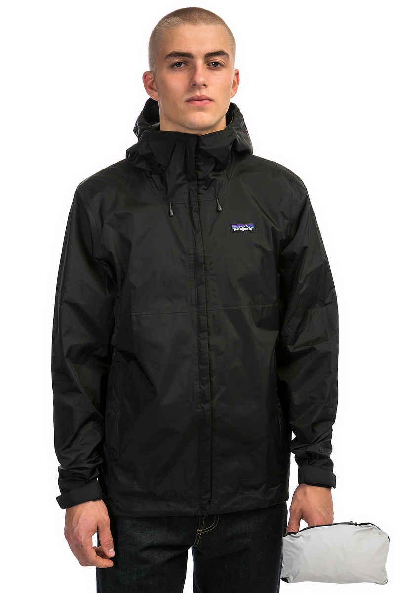 Patagonia Torrentshell Jacke Packable (black)