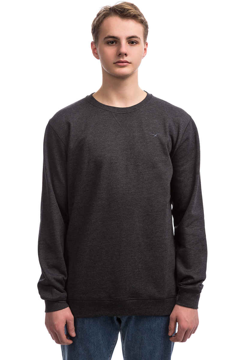 Cleptomanicx Ligull 2 Sweatshirt (heather black 2)