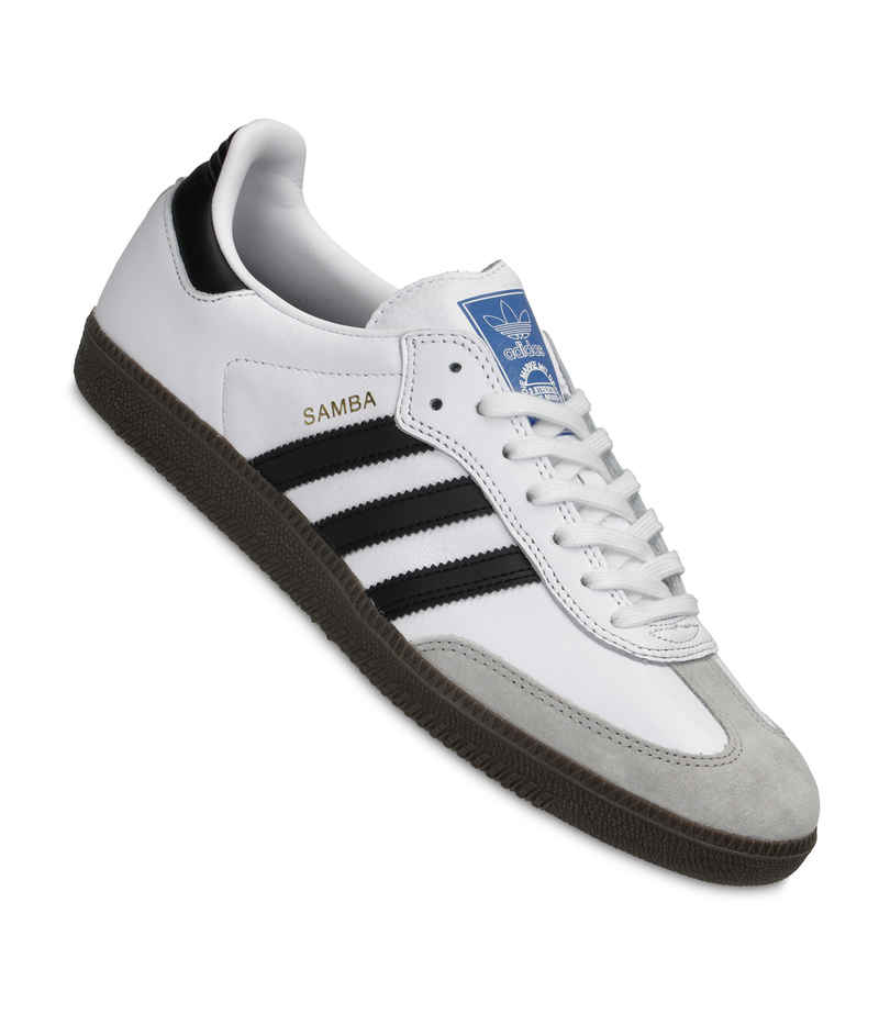 adidas Skateboarding Samba ADV Zapatilla (white core black gum)