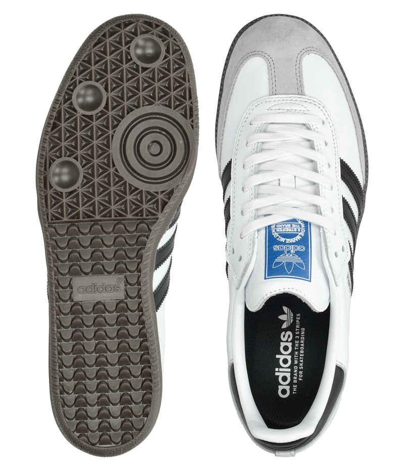 adidas Skateboarding Samba ADV Schuh (white core black gum)