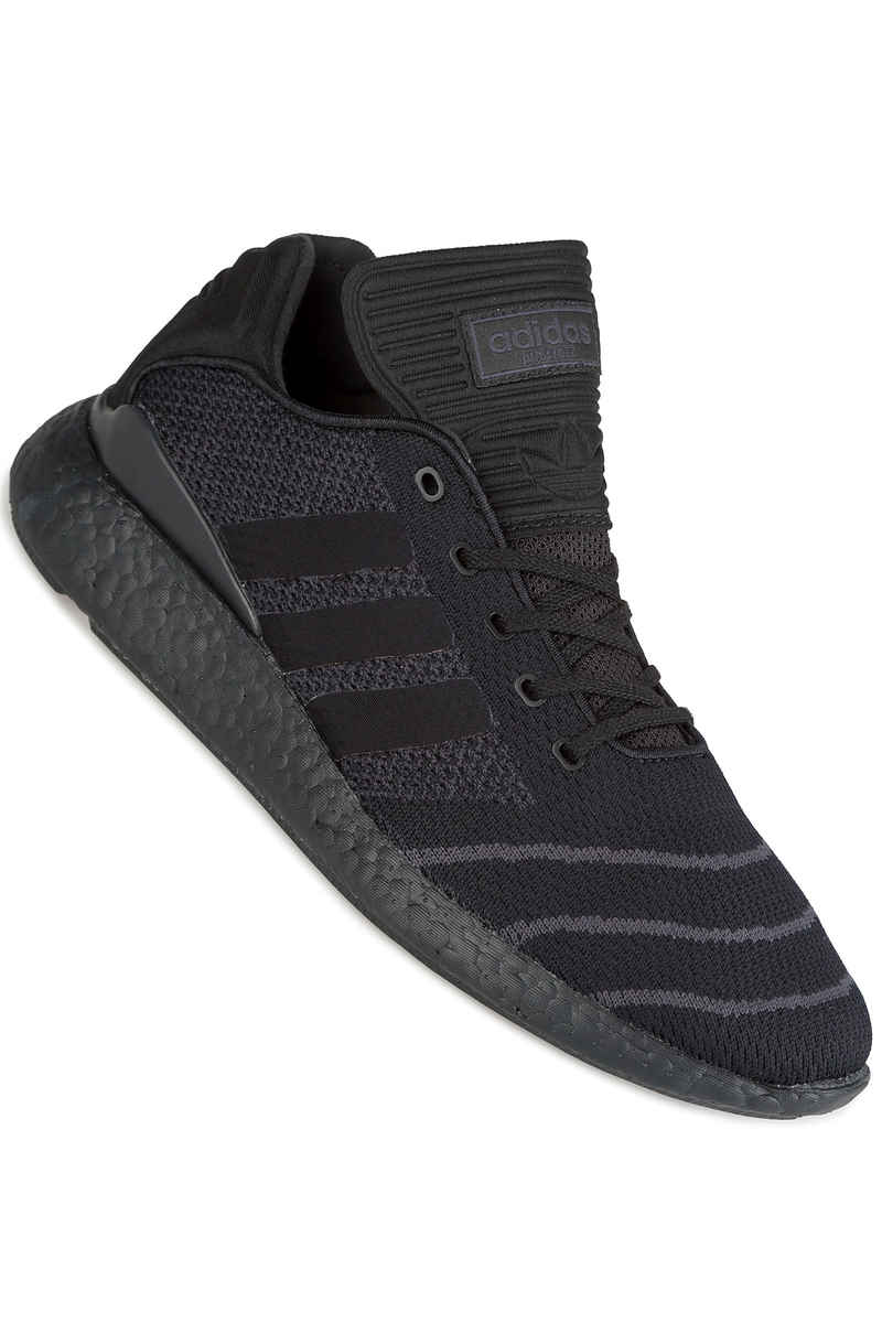 Adidas con lo skateboard busenitz puro slancio le scarpe (nucleo centrale nera