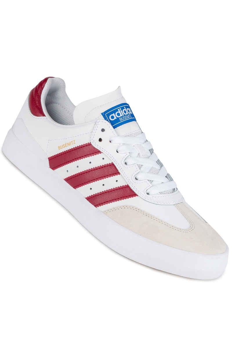 adidas Skateboarding Busenitz Vulc RX Schoen (white burgundy bluebird)