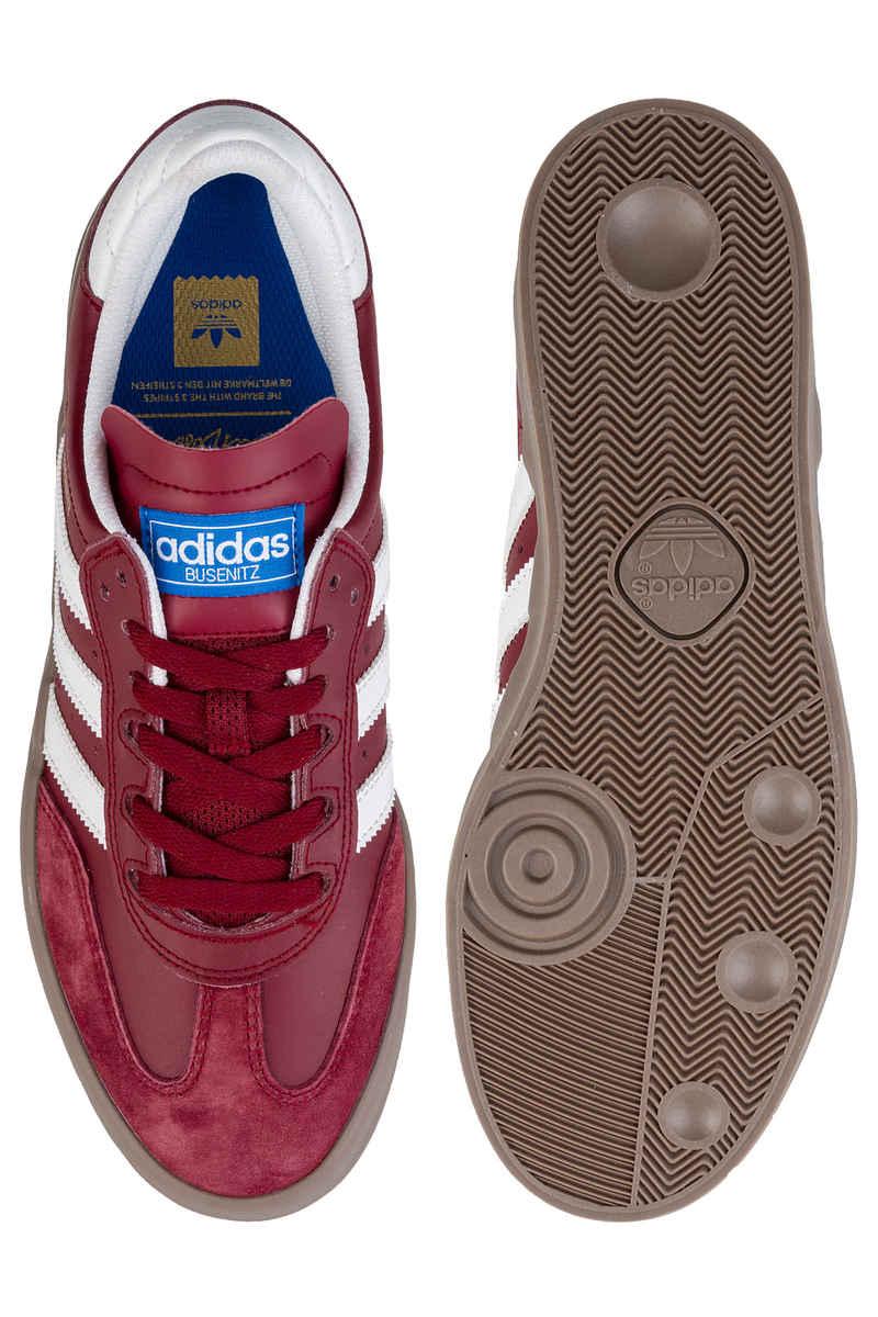 adidas Skateboarding Busenitz Vulc RX Zapatilla (burgundy white gum)