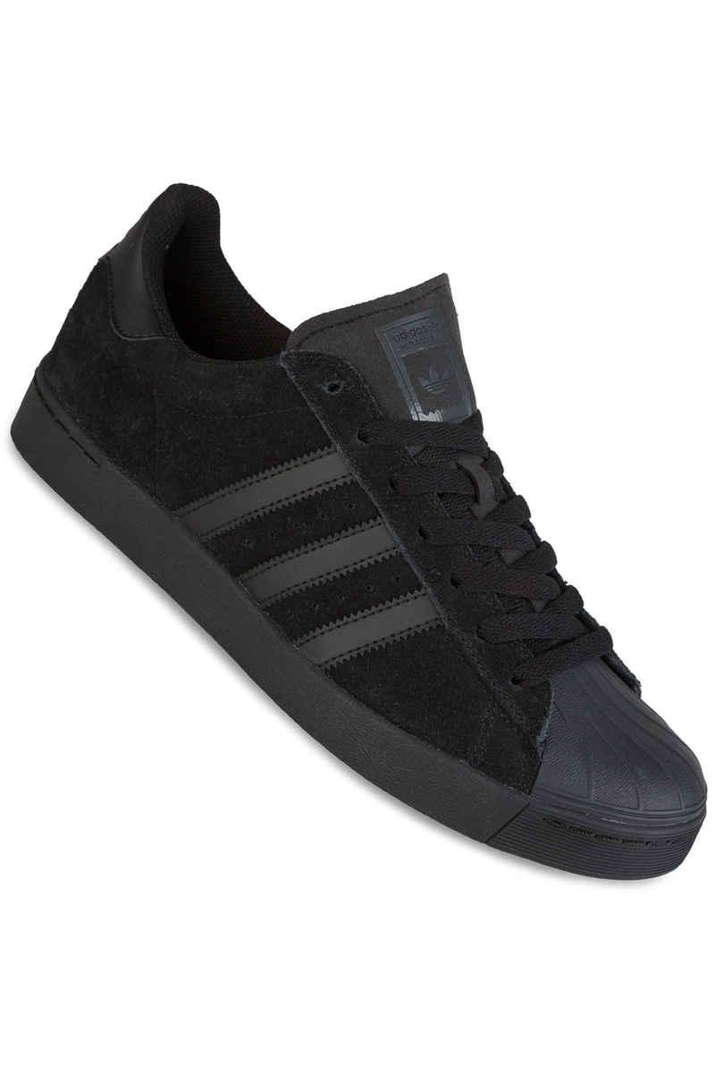 adidas Skateboarding Superstar Vulc ADV Shoes (core black black black)