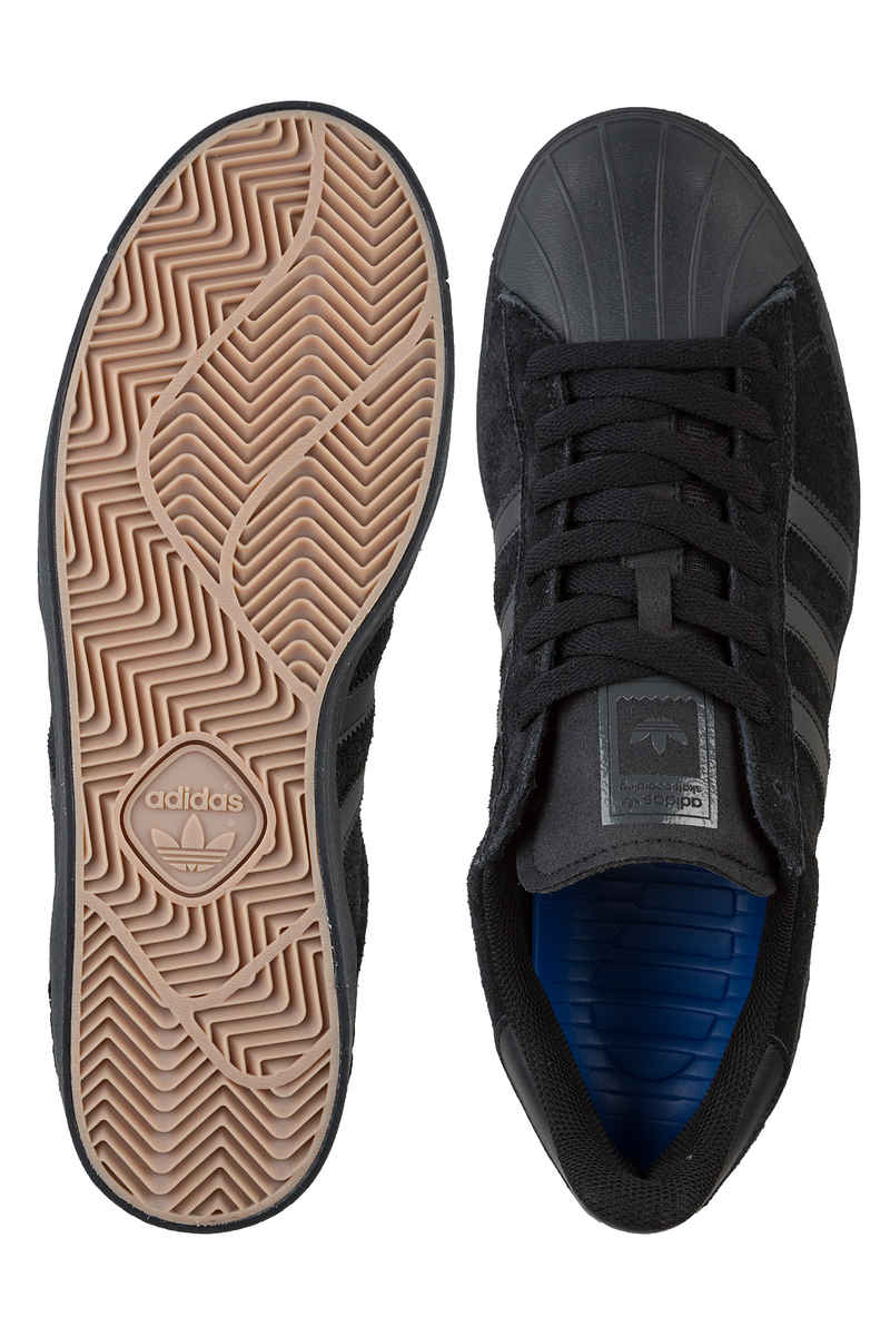 adidas Skateboarding Superstar Vulc ADV Chaussure (core black black black)
